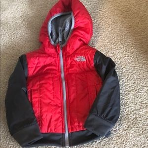 The North Face toddler boys reversible coat
